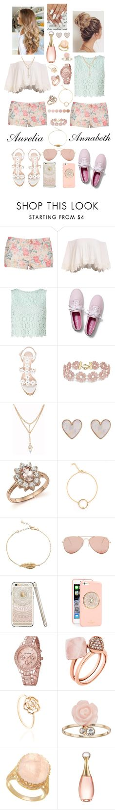 """""""Matching Styles with Pastels"""" by megan-maddalena ❤ liked on Polyvore featuring Miss Selfridge, Keds, Oscar de la Renta, BaubleBar, New Look, Bloomingdale's, Betsey Johnson, Kate Spade, Michael Kors and LC Lauren Conrad"""