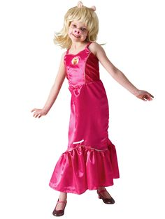 The Muppets Girls Disney Miss Piggy - Child Costume | very.co.uk