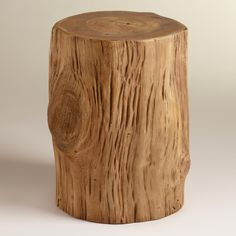 Our eye-catching Teak Tree Stump Table is a real teak tree stump harvested from an eco-conscious plantation. In a natural finish, this wonderfully rustic piece makes an exquisitely unique table or decorative accent in any room of the home. Tree Stump Coffee Table, Unique Coffee Table, Trunk Table, Wood Stumps, Tree Stumps, Teak Wood, Bohemian Decor, Bohemian House, Wood Table