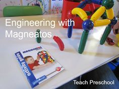 Engineering with Magneatos by Teach Preschool