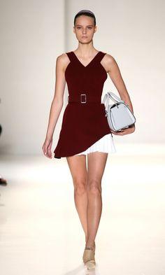Victoria Beckham SS14 Show At New York Fashion Week, 2013