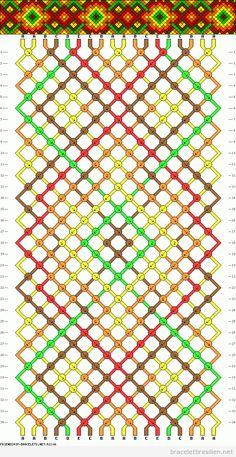 Bracelet Chevron, Macrame Bracelet Patterns, Bead Loom Patterns, Macrame Patterns, Bracelet Crafts, Loom Bracelets, Macrame Bracelets, Handmade Bracelets, Bracelet Knots