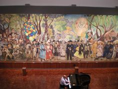 Diego Rivera. Dream of a Sunday Afternoon in Alameda Park. 1948. Fresco. Museo Mural Diego Rivera, Mexico City, Mexico.