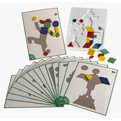 pattern block boards - no lines