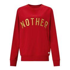 Buy Selfish Mother Mother Crew Neck Sweatshirt Online at johnlewis.com