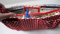 Purse Organizer Sewing Pattern Free | Fashioned by Meg: Purse Organizer- Pattern Review