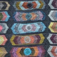 Crochet Art by Sophie Digard This scarf is hand crocheted with...