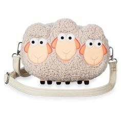 Disney Billy Goat Gruff Sheep Crossbody Bag by Loungefly Toy Story 4 Disney Handbags, Disney Purse, Sheep Face, Billy Goats Gruff, New Toy Story, Bo Peep, Disney Sketches, Disney Mickey Mouse, Disney Pixar