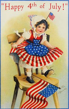 Decorate for the Fourth of July with patriotic folk art & decor from Traditions! Shop figures, dolls, ornaments, lighted decor, garlands & more for July Fourth Of July Decor, Happy Fourth Of July, 4th Of July Decorations, 4th Of July Party, July 4th, 4th Of July Images, Patriotic Pictures, Vintage Greeting Cards, Vintage Postcards