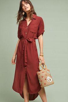 c122cd1d328 Faithfull Majorie Shirtdress. Anthropology DressesLong ...