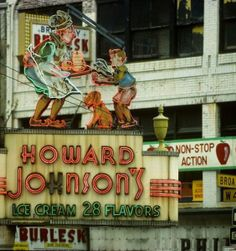 Howard Johnson's in Times Square, 1955-2005. West 46th Street and Broadway, NYC