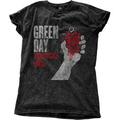 Green Day - American Idiot Vintage (Snow-Washed) (Ladies)