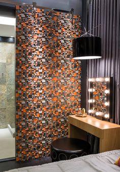 Decor Salteado - Blog de Decoração | Construção | Arquitetura | Paisagismo: Suíte moderna com detalhes retrô para moça – We love decor!