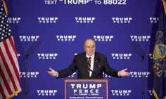 "Rudy Giuliani Confirms FBI Insiders Leaked Information To The Trump Campaign...I want equal treatment ""enquiring"" minds want to know about Trump's rape trial."