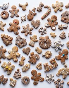 Christmas Gingerbread Cookies Pic. delta-breezes: Andrea Tamburrini | @anddicted