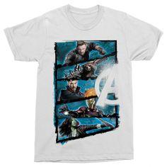 Bosszúállók megérkeztek!😁  #bosszúállók #kedvenc #best #ajándék #ajándékötlet #amerikakapitány #pókember #vasember Avengers Team, Team Logo, Logos, Mens Tops, T Shirt, Products, Fashion, Supreme T Shirt, Moda
