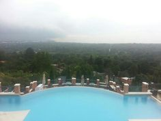 High Tea at the Westcliff Hotel, Overlooking the Parks and Rosebank.