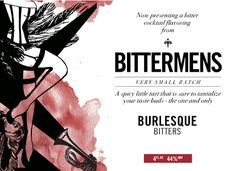 Burlesque Bitters--how sexy!