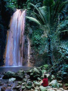 Diamond Botanical Gardens, St. Lucia