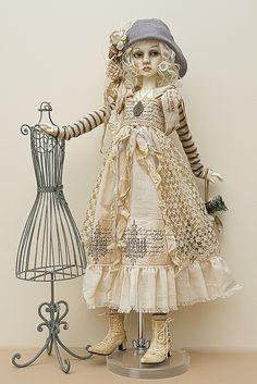 Dollstown Amy in Lililace by jeanoak, via Flickr