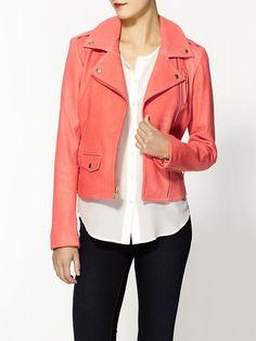 Piperlime | Elenian Leather Jacket