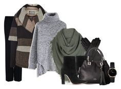 """""""Today's choice: winter  look"""" by mag1727 ❤ liked on Polyvore featuring STELLA McCARTNEY, Line, Chicwish, White + Warren, Dents, Gianvito Rossi, Vince Camuto and Freedom To Exist"""