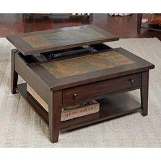 Liberty Furniture Hearthstone Lift Top Cocktail Table - 682-OT1011