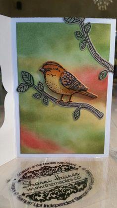 Sharni Haines. Best Birds Stampin'Up!