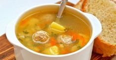 63 Ideas For Soup Potato Easy Lunch Recipes Cookbook Recipes, Lunch Recipes, Seafood Recipes, Soup Recipes, Chicken Recipes, Cooking Recipes, Meatball Soup, Meatball Recipes, Russian Recipes