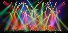 Rush -  Clockwork Angels Tour - Lighting design by Howard Ungerleider