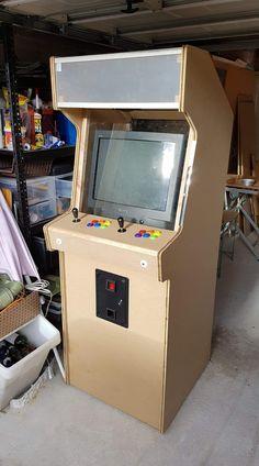 Arcade Table, Arcade Room, Arcade Cabinet Plans, Mame Cabinet, Borne Arcade, Custom Consoles, Pi Projects, Retro Arcade, Diy