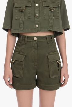 Retro Outfits, Trendy Outfits, Cool Outfits, Summer Outfits, Fashion Pants, Fashion Outfits, Pantalon Cargo, Camping Outfits, Color Khaki