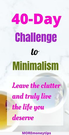 Minimalism Challenge - More Money Tips Minimalist Quotes, Minimalist Living, Kindness Quotes, Minimalist Lifestyle, Finance Tips, Simple Living, Money Tips, Personal Finance, Organization Lists