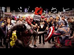 Cosplaying the only way we know how! CMS takes on WonderCon 2017!: Cinema Makeup School Cosplaying the only way we know how! CMS takes on…