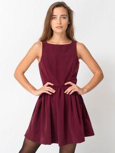 Peach Skin Lola Dress, american apparel