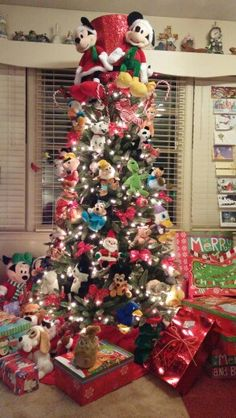tree topper for my mickey mouse treered hat came from belks vintage christmas pinterest red hats tree toppers and mickey mouse - Mickey Mouse Christmas Tree Topper