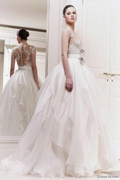 fairy tale wedding gown.