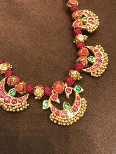 India Jewelry, Temple Jewellery, Gems Jewelry, Stone Jewelry, Pendant Jewelry, Jewelery, Gold Pendant, Gold Wedding Jewelry, Bridal Jewelry