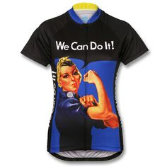 """As one of the most iconic images of the 20th century, Rosie the Riveter has become a symbol of strength, perseverance, and women's rights. Based on J. Howard Miller's original """"We Can Do It!"""" poster from 1942, this fun new color-up should remind women everywhere of how far we've come, and also give us the inspiration to continue to push toward new heights."""