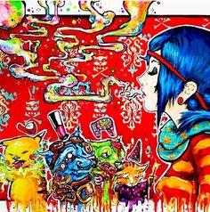 Trippy art I love it