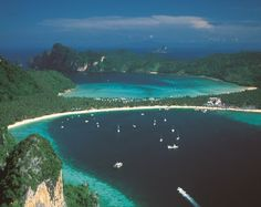 Ilhas Phi Phi - Tailândia Thailand, Places, Water, Outdoor, Summer Vacations, Travel Guide, Islands, Viajes, Gripe Water