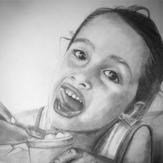 Niña comiendo un helado  #WIP #lureka #draw #drawing #pencil #sketch #sketchbook #boceto #lapiz #dibujo #dibujosalapiz #portrait #portraits #art_realism_ #arrtposts #artmagazine #instaillustrate #tacart #duende_arts_help #selfportait #instart