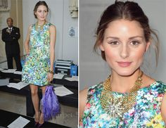 olivia palermo...will someone please find this zara dress for me?!
