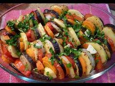 Tian de VEGETALES AL HORNO. Ratatouille. Receta vegetariana - YouTube