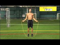 Shaun T shows you how to use the jump rope that comes as part of the Asylum Extreme Fitness package.
