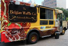 Belgian Waffle truck!!!!!  I love you Austin, TX.