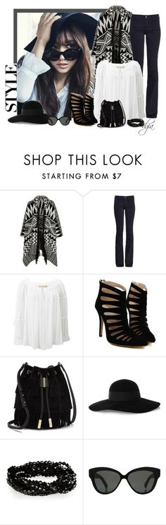 """STYLE"" by dgia ❤ liked on Polyvore featuring Shin Choi, Accessorize, MiH Jeans, Michael Kors, Vince Camuto, Eugenia Kim and Linda Farrow"