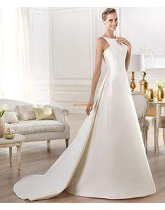 A-Lijn Chic & Modern Mouwloos Bruidsmode 2014