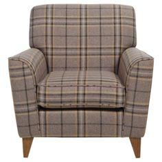 Byron Occasional Chair, Slate Check