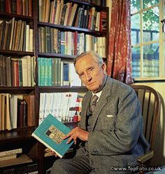 John Ronald Reuel Tolkien (1892 – 1973) an English writer, poet, philologist, and university professor, best known as the author of the classic high fantasy works The Hobbit, The Lord of the Rings, and The Silmarillion.